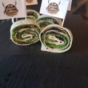vegetarische miniwraps per 4 te bestellen op feesthapje.nl